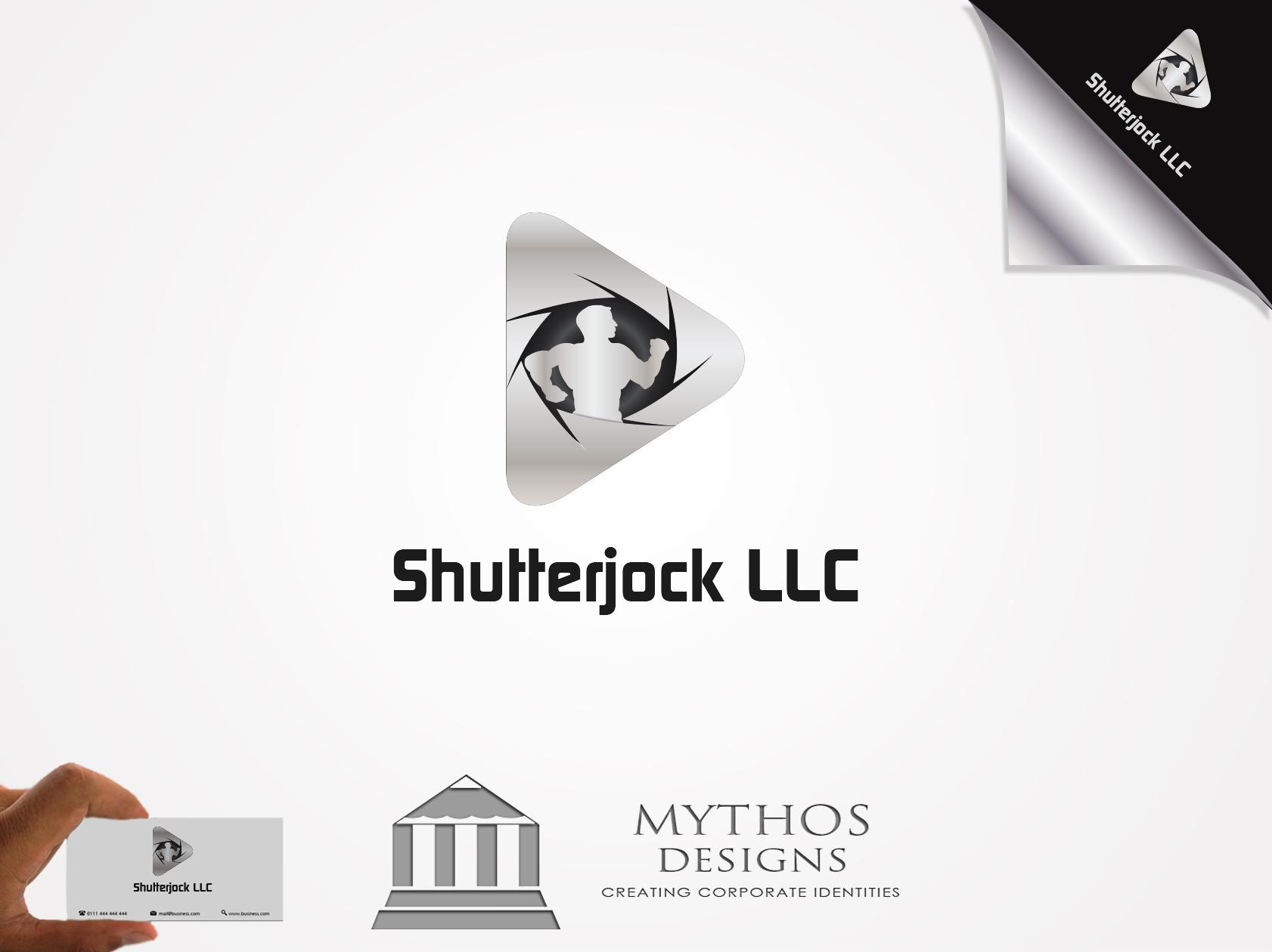 Logo Design by Mythos Designs - Entry No. 92 in the Logo Design Contest Unique Logo Design Wanted for Shutterjock LLC.