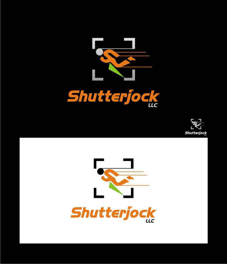 Logo Design by graphicleaf - Entry No. 93 in the Logo Design Contest Unique Logo Design Wanted for Shutterjock LLC.