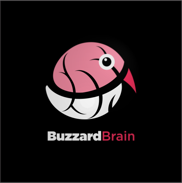 Logo Design by Private User - Entry No. 46 in the Logo Design Contest Buzzard Brain Logo Design.