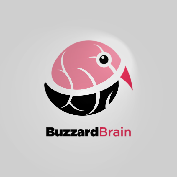 Logo Design by Private User - Entry No. 47 in the Logo Design Contest Buzzard Brain Logo Design.