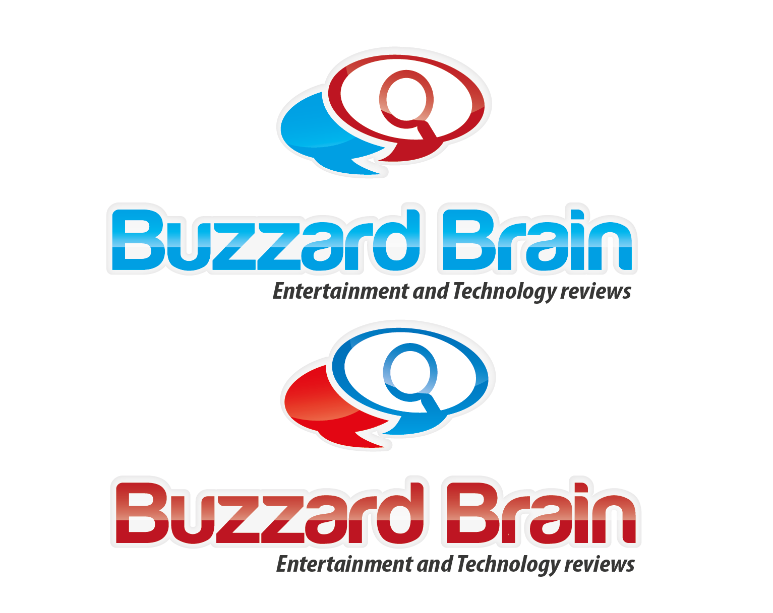 Logo Design by 354studio - Entry No. 48 in the Logo Design Contest Buzzard Brain Logo Design.