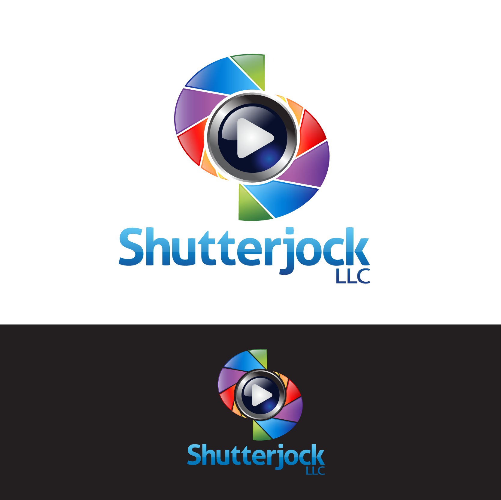 Logo Design by DENOK - Entry No. 99 in the Logo Design Contest Unique Logo Design Wanted for Shutterjock LLC.