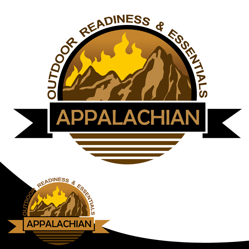 Logo Design by Robert Turla - Entry No. 30 in the Logo Design Contest Imaginative Logo Design for Appalachian Outdoor Readiness & Essentials.
