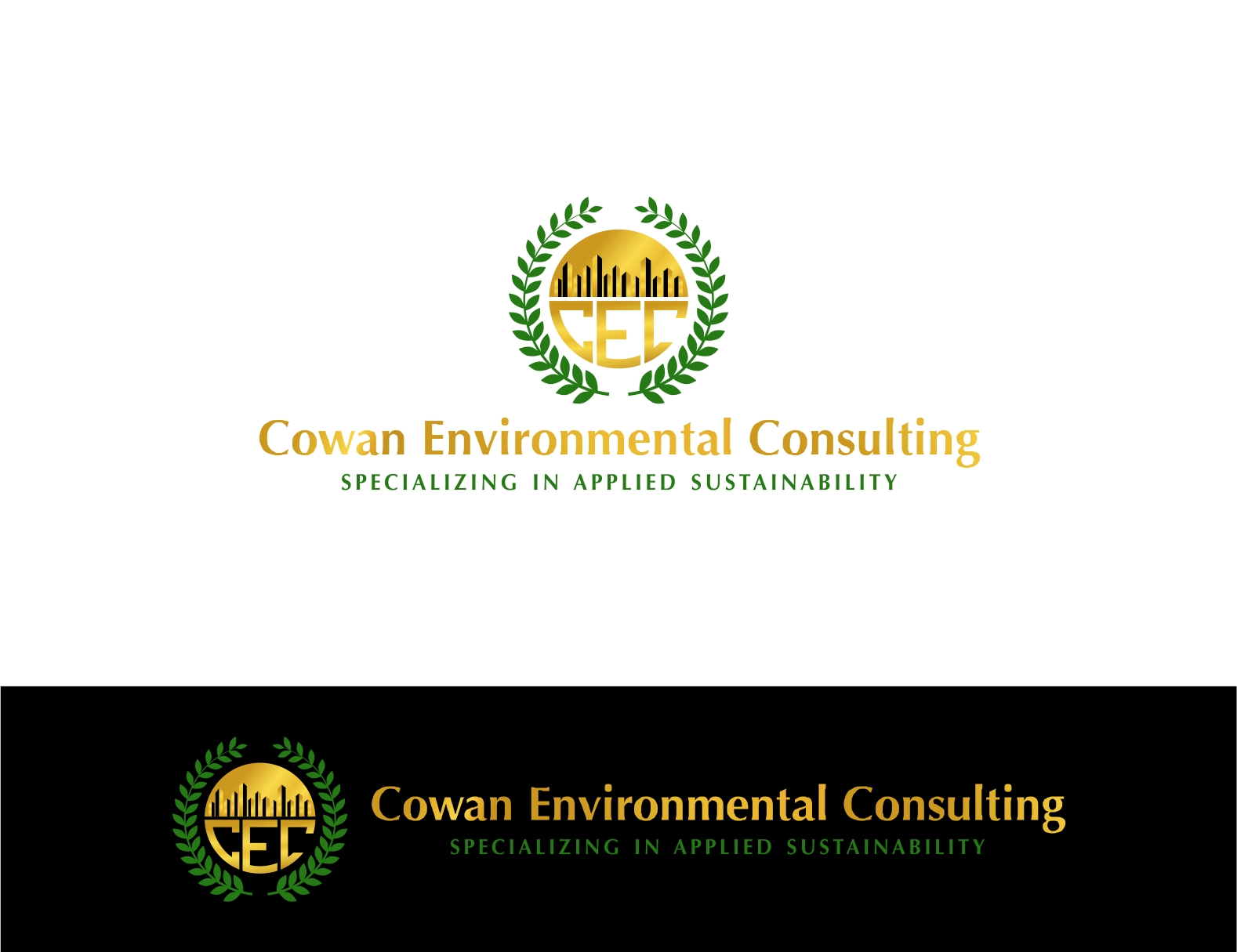 Logo Design by haidu - Entry No. 44 in the Logo Design Contest Fun Logo Design for Cowan Environmental Consulting.