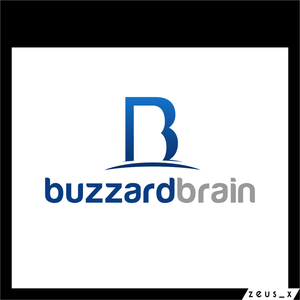 Logo Design by Ngepet_art - Entry No. 51 in the Logo Design Contest Buzzard Brain Logo Design.