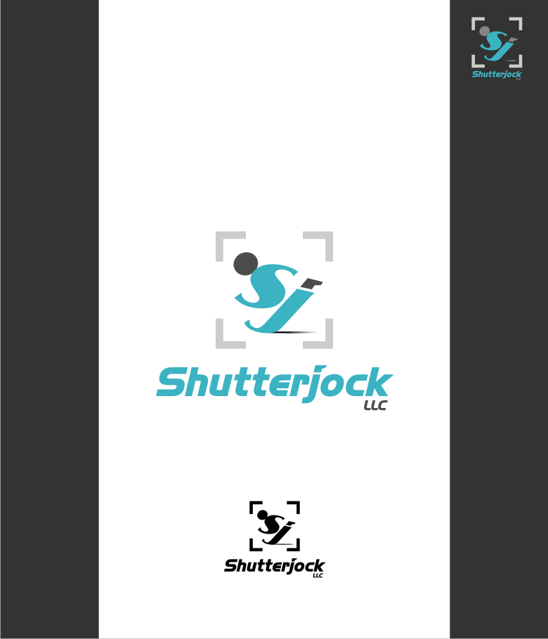 Logo Design by graphicleaf - Entry No. 105 in the Logo Design Contest Unique Logo Design Wanted for Shutterjock LLC.