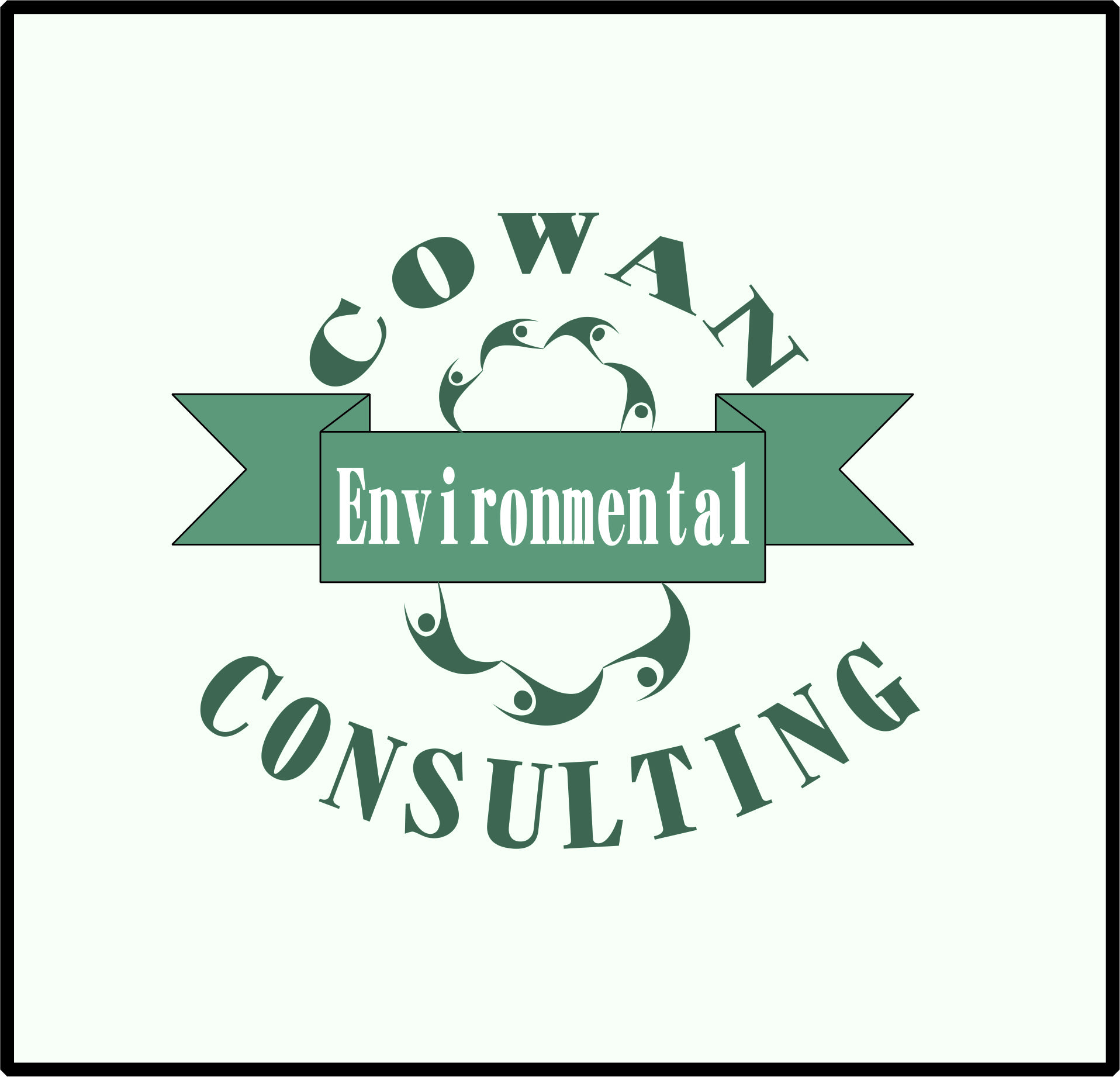 Logo Design by Teguh Hanuraga - Entry No. 48 in the Logo Design Contest Fun Logo Design for Cowan Environmental Consulting.