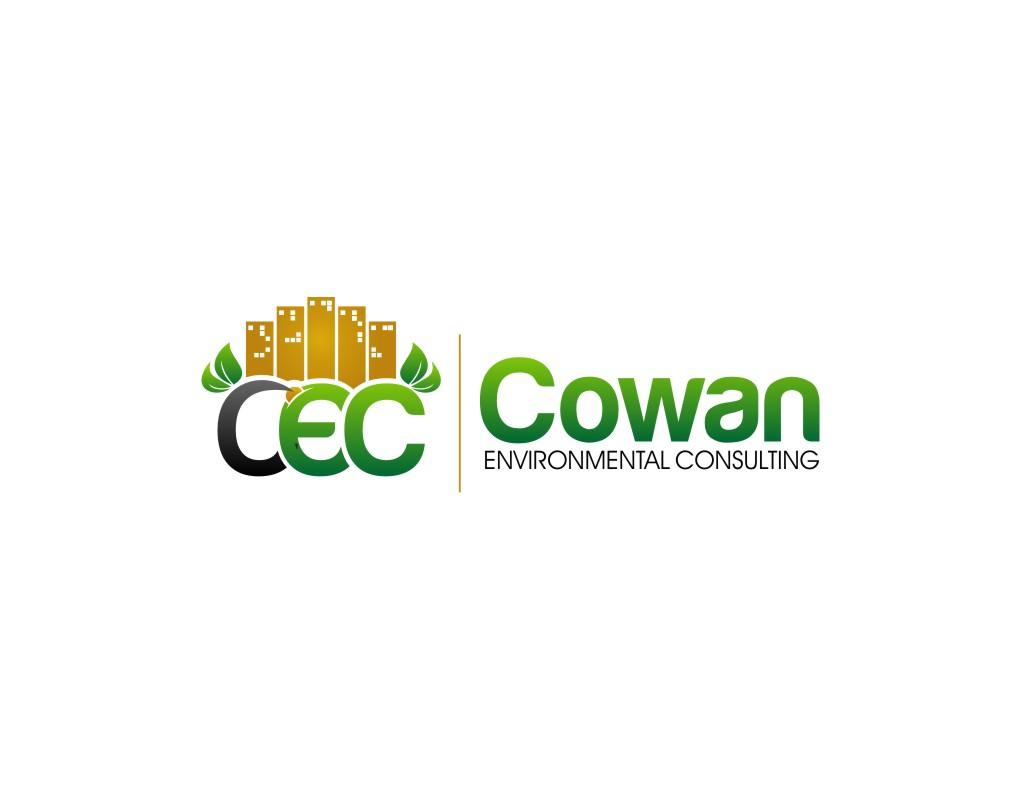 Logo Design by untung - Entry No. 49 in the Logo Design Contest Fun Logo Design for Cowan Environmental Consulting.