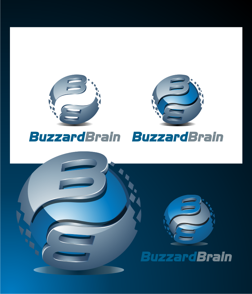 Logo Design by graphicleaf - Entry No. 55 in the Logo Design Contest Buzzard Brain Logo Design.