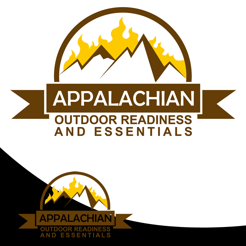 Logo Design by Private User - Entry No. 34 in the Logo Design Contest Imaginative Logo Design for Appalachian Outdoor Readiness & Essentials.