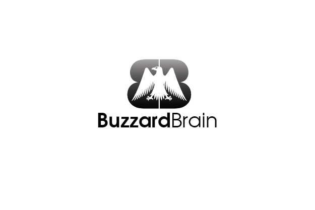 Logo Design by Digital Designs - Entry No. 56 in the Logo Design Contest Buzzard Brain Logo Design.
