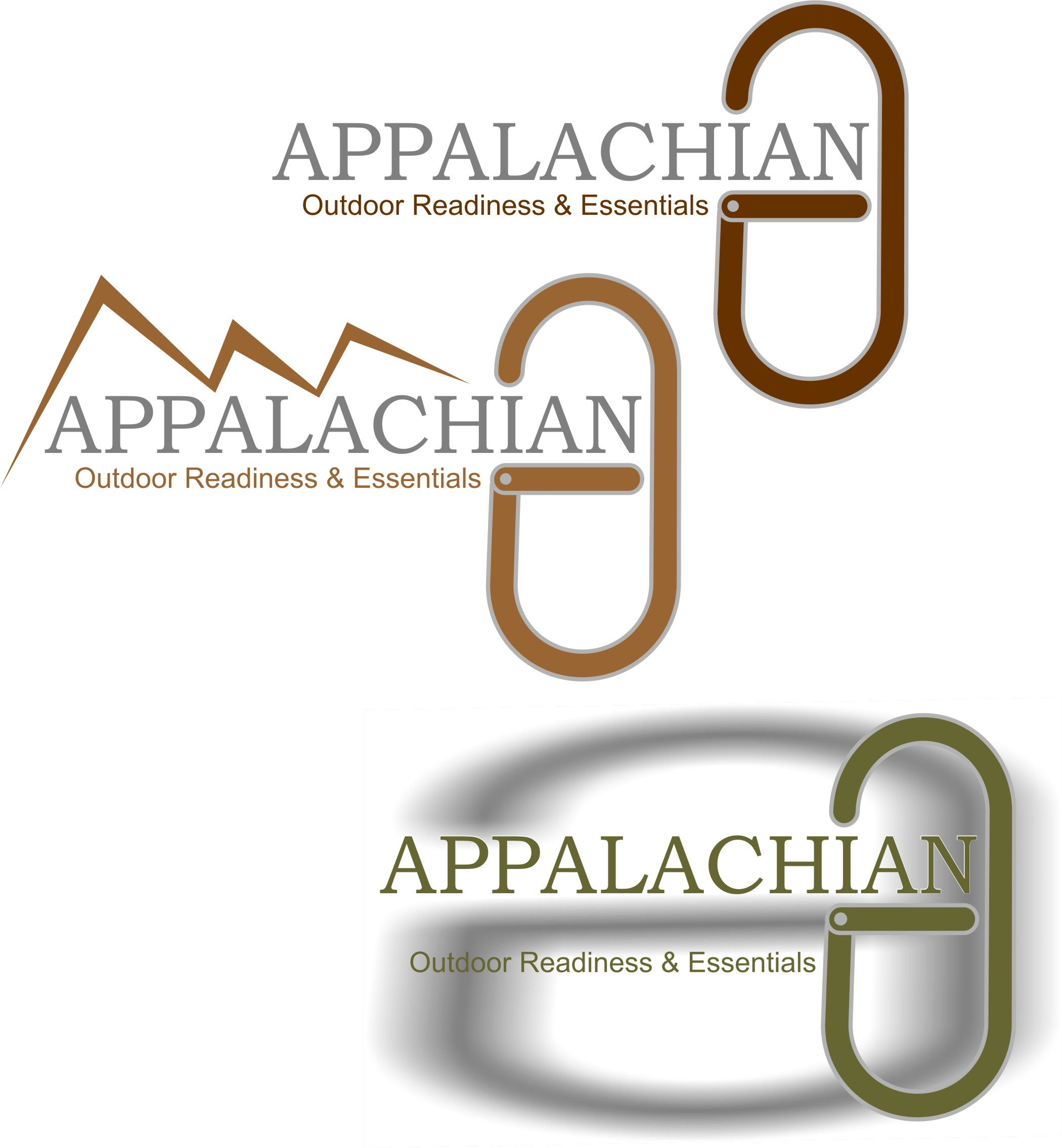 Logo Design by Korsunov Oleg - Entry No. 35 in the Logo Design Contest Imaginative Logo Design for Appalachian Outdoor Readiness & Essentials.
