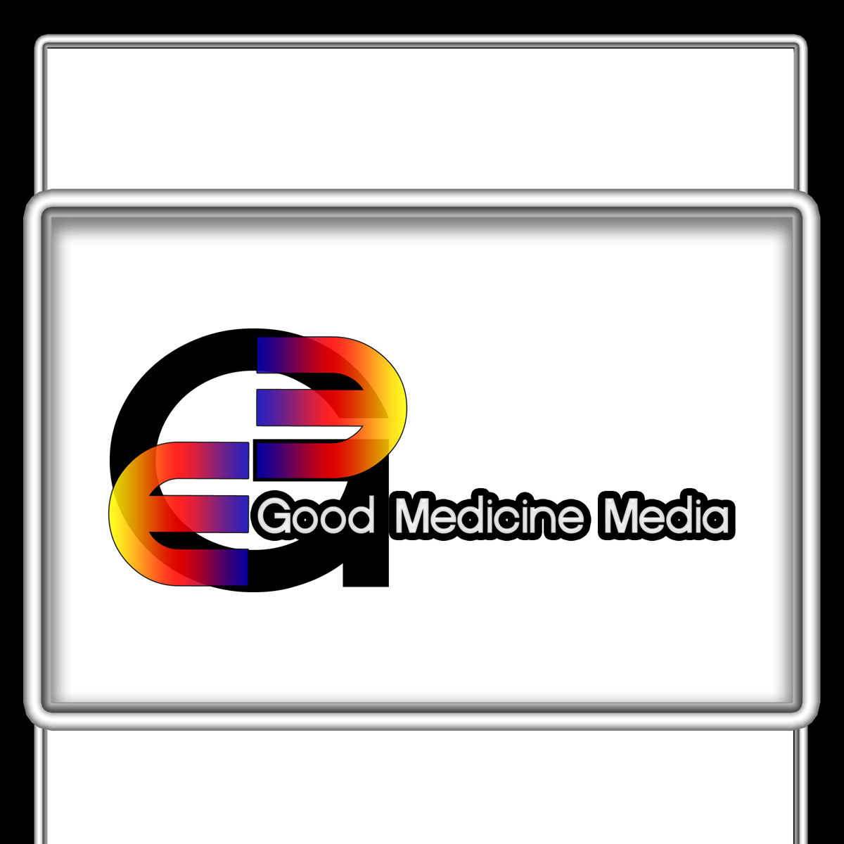 Logo Design by MITUCA ANDREI - Entry No. 6 in the Logo Design Contest Good Medicine Media Logo Design.