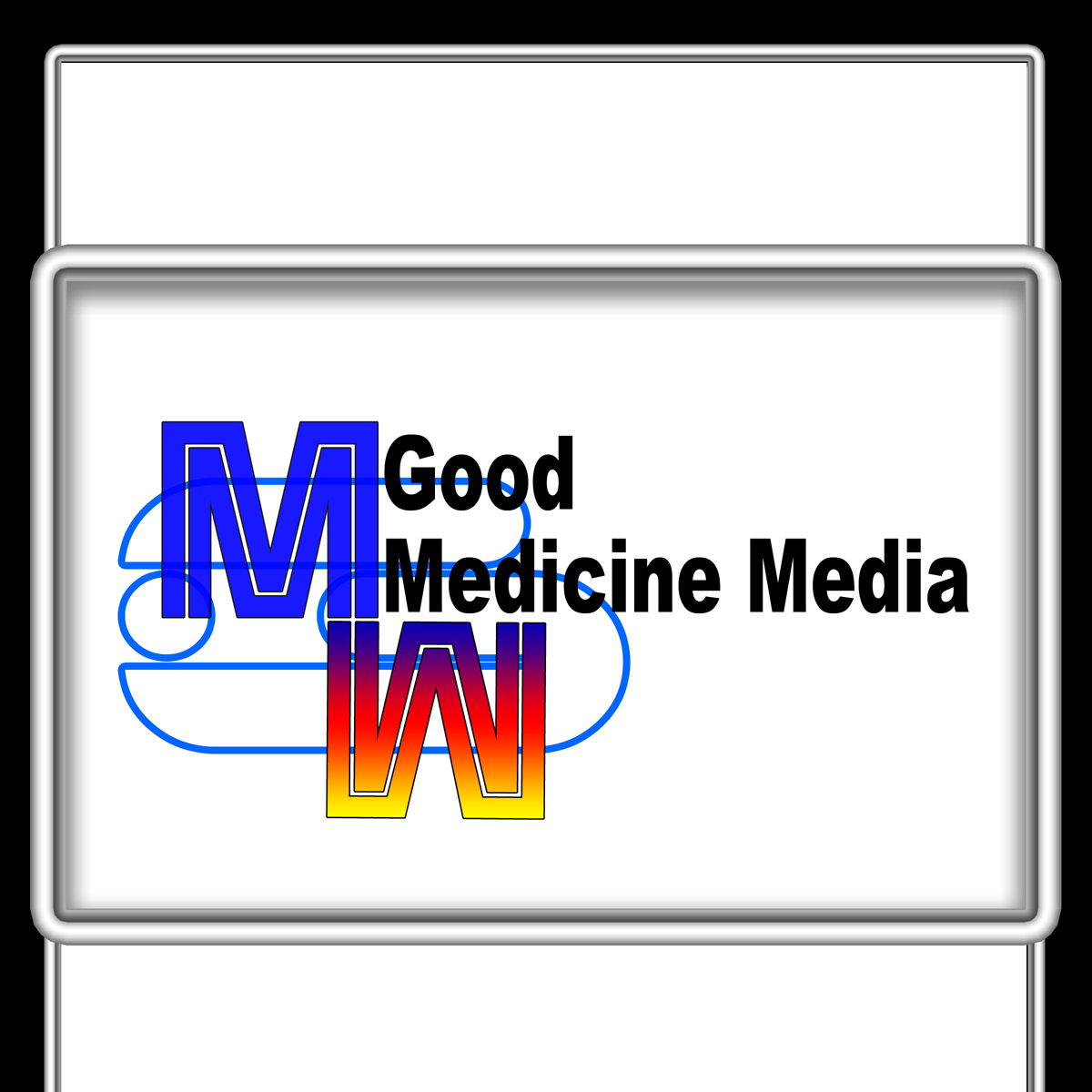 Logo Design by MITUCA ANDREI - Entry No. 7 in the Logo Design Contest Good Medicine Media Logo Design.