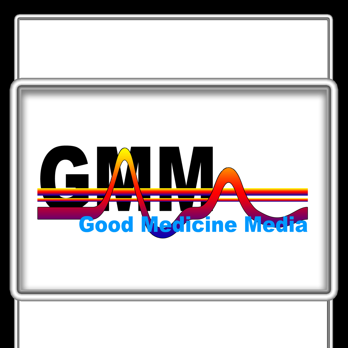 Logo Design by MITUCA ANDREI - Entry No. 8 in the Logo Design Contest Good Medicine Media Logo Design.