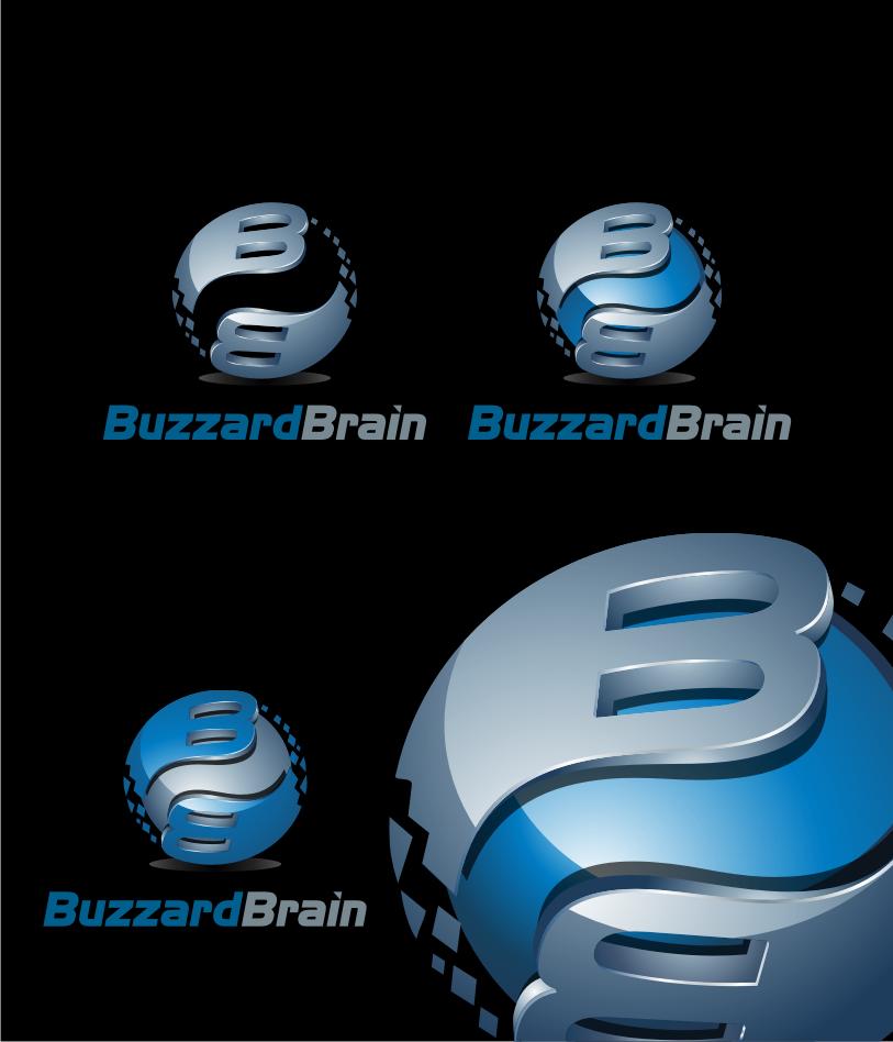 Logo Design by graphicleaf - Entry No. 58 in the Logo Design Contest Buzzard Brain Logo Design.