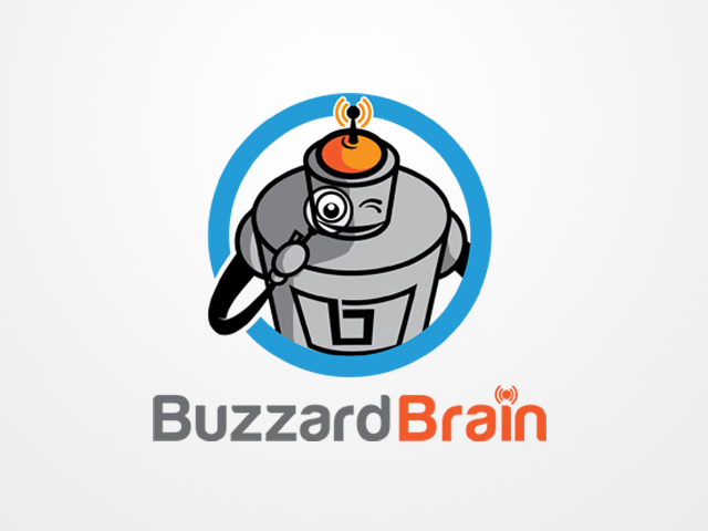Logo Design by khoirul.azm - Entry No. 59 in the Logo Design Contest Buzzard Brain Logo Design.