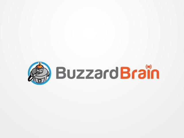 Logo Design by khoirul.azm - Entry No. 60 in the Logo Design Contest Buzzard Brain Logo Design.