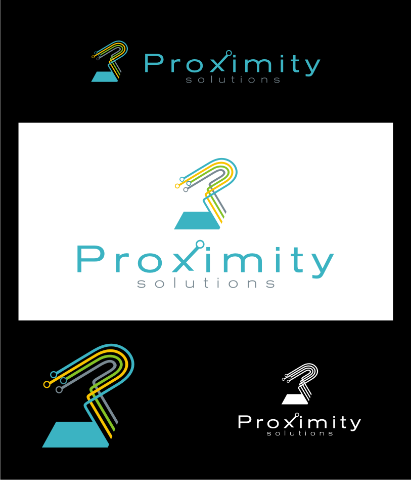 Logo Design by graphicleaf - Entry No. 63 in the Logo Design Contest New Logo Design for Proximity Solutions.