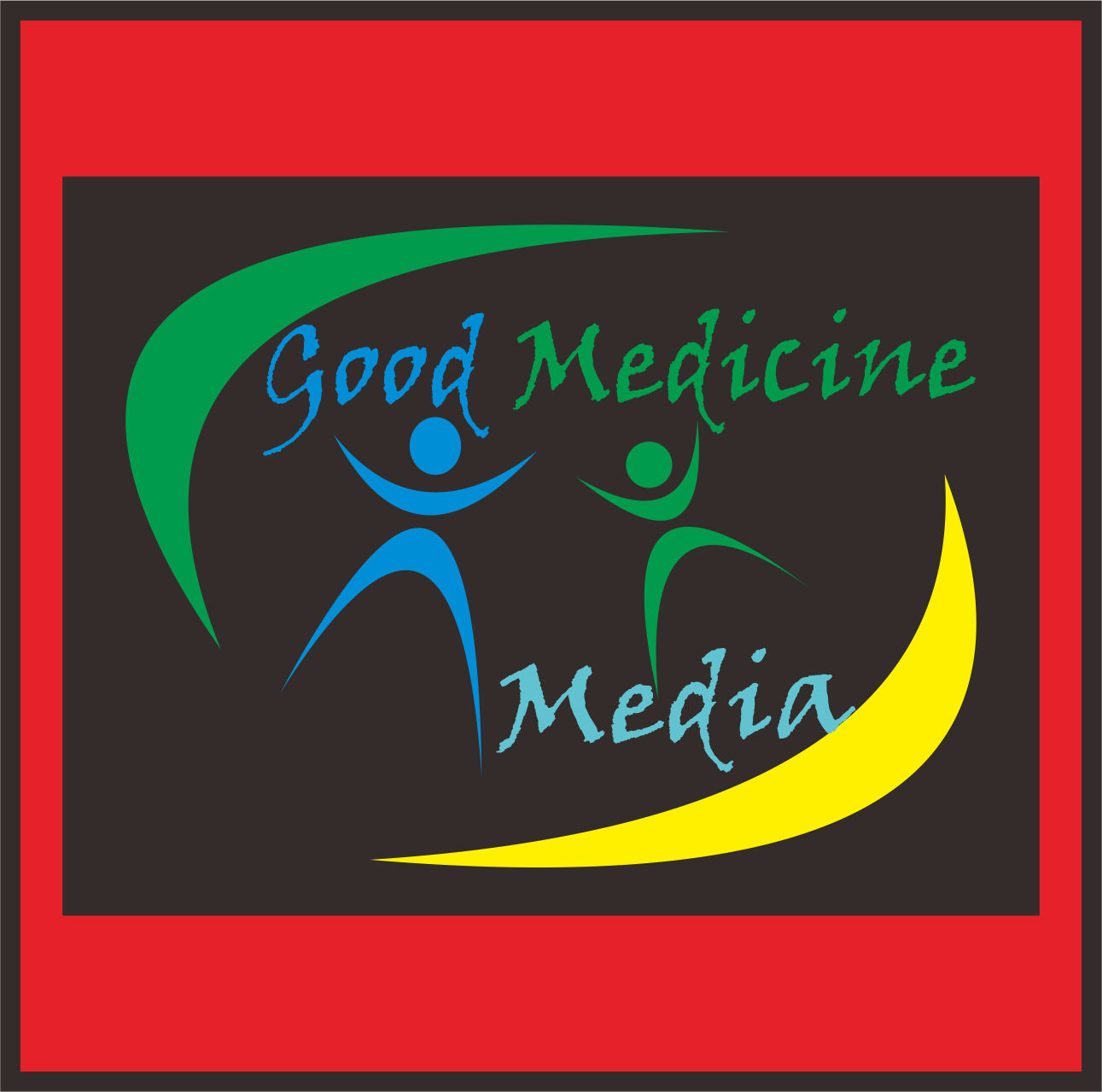 Logo Design by Teguh Hanuraga - Entry No. 15 in the Logo Design Contest Good Medicine Media Logo Design.