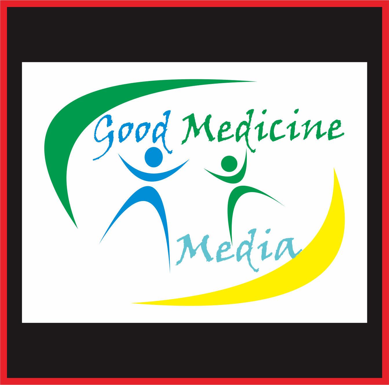 Logo Design by Teguh Hanuraga - Entry No. 16 in the Logo Design Contest Good Medicine Media Logo Design.