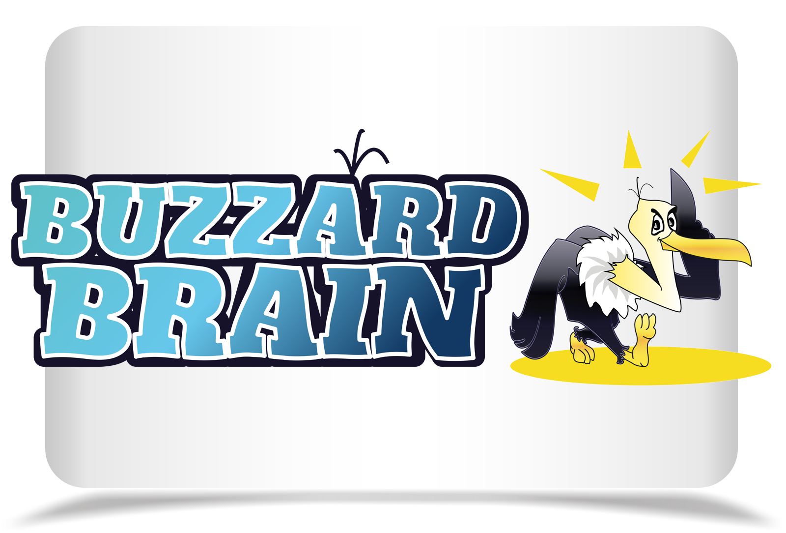 Logo Design by Rozsa Matyas - Entry No. 63 in the Logo Design Contest Buzzard Brain Logo Design.