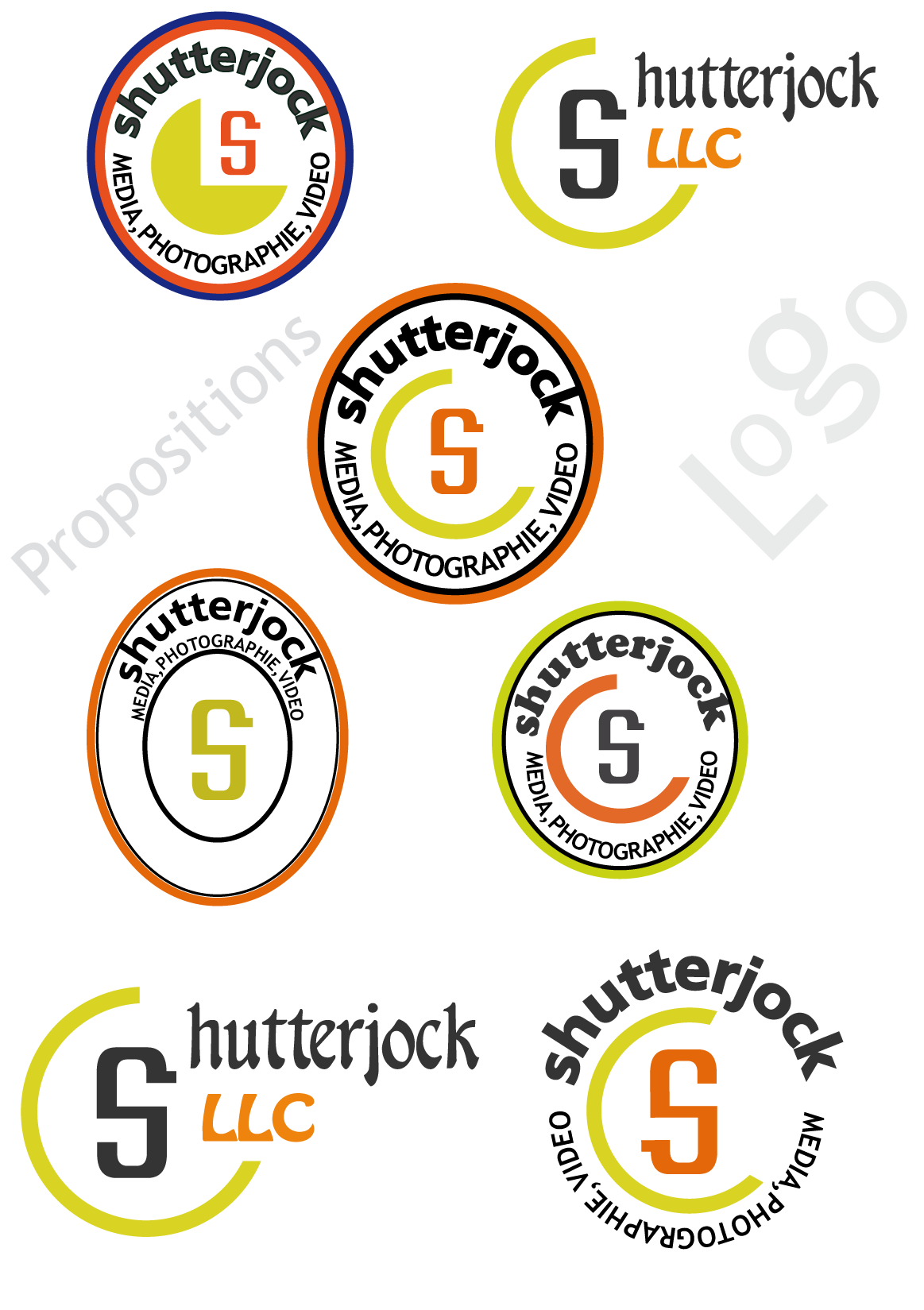 Logo Design by Smartweb - Entry No. 115 in the Logo Design Contest Unique Logo Design Wanted for Shutterjock LLC.