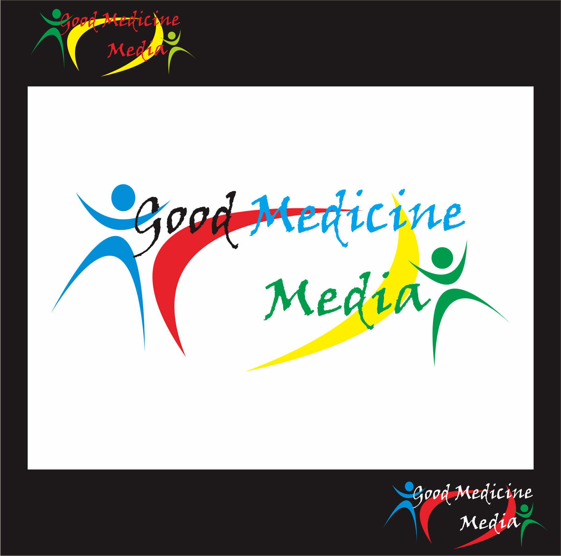 Logo Design by Teguh Hanuraga - Entry No. 17 in the Logo Design Contest Good Medicine Media Logo Design.