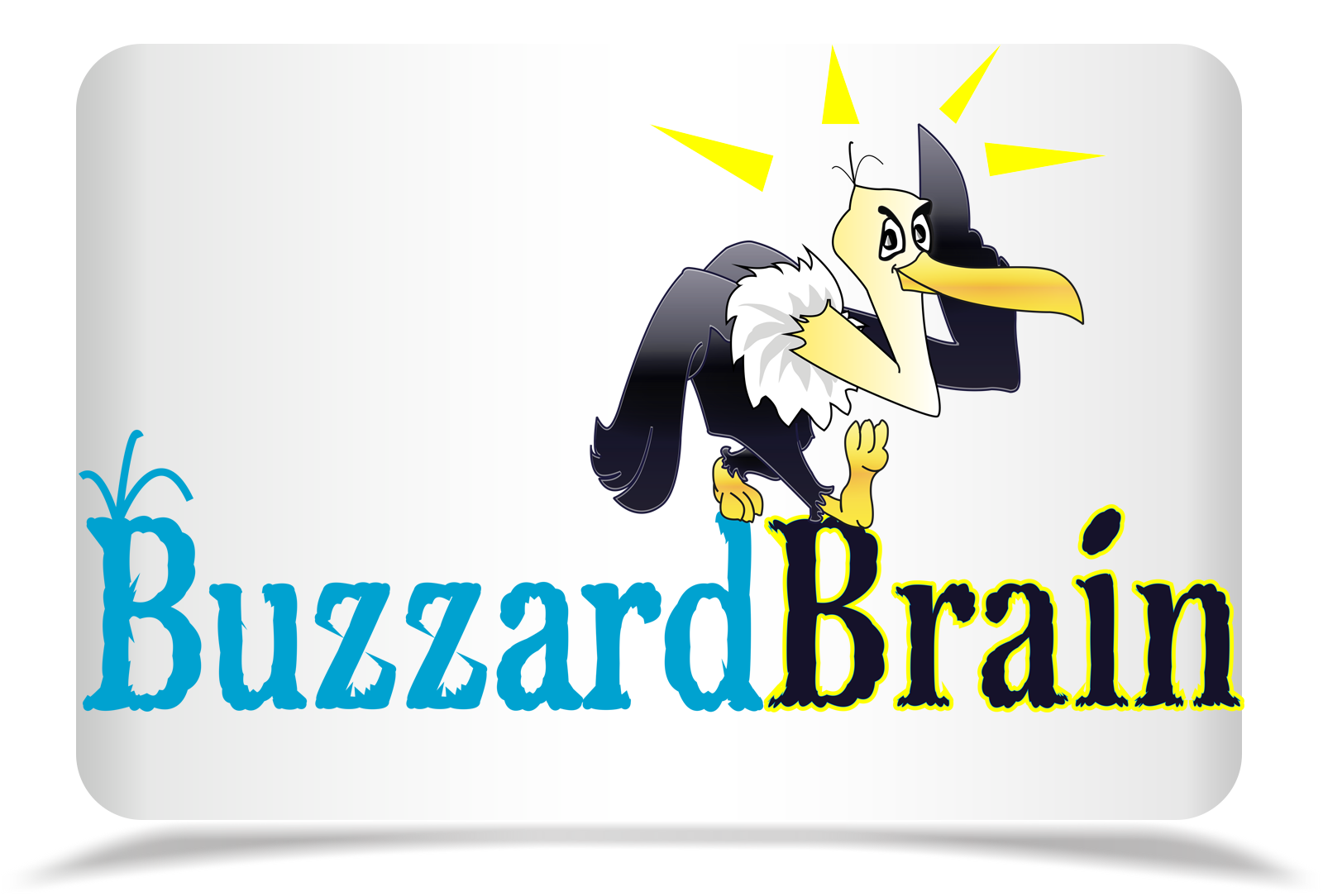 Logo Design by Rozsa Matyas - Entry No. 65 in the Logo Design Contest Buzzard Brain Logo Design.