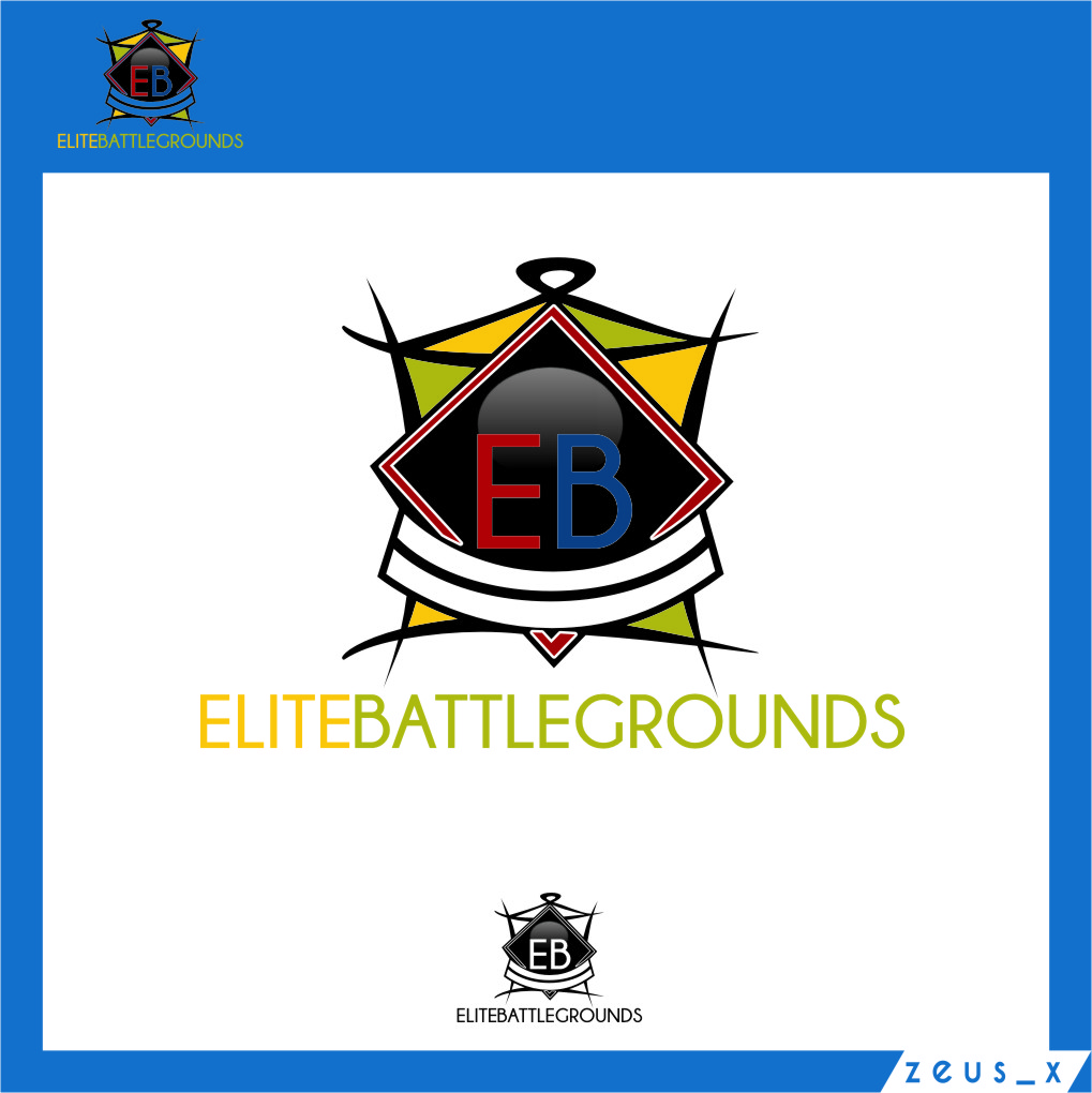 Logo Design by RasYa Muhammad Athaya - Entry No. 1 in the Logo Design Contest Creative Logo Design for Elite Battlegrounds.