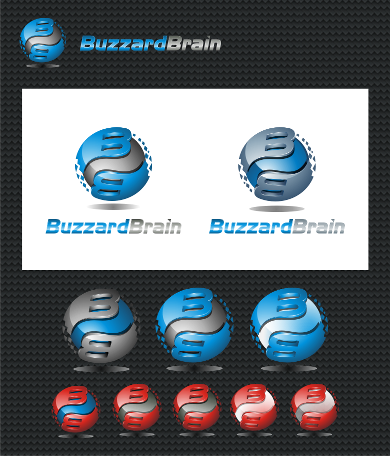 Logo Design by graphicleaf - Entry No. 71 in the Logo Design Contest Buzzard Brain Logo Design.