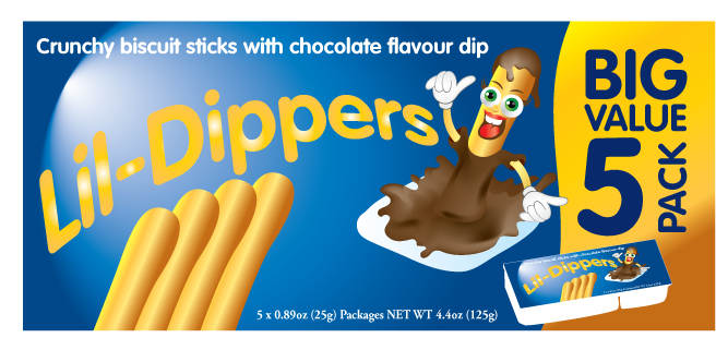 Packaging Design by Severiano Fernandes - Entry No. 9 in the Packaging Design Contest Inspiring Packaging Design for Lil' Dippers.