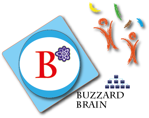 Logo Design by Achmad Fandi - Entry No. 75 in the Logo Design Contest Buzzard Brain Logo Design.