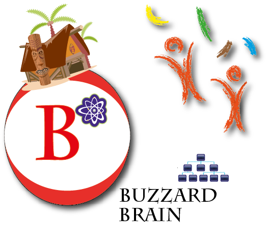 Logo Design by Achmad Fandi - Entry No. 76 in the Logo Design Contest Buzzard Brain Logo Design.