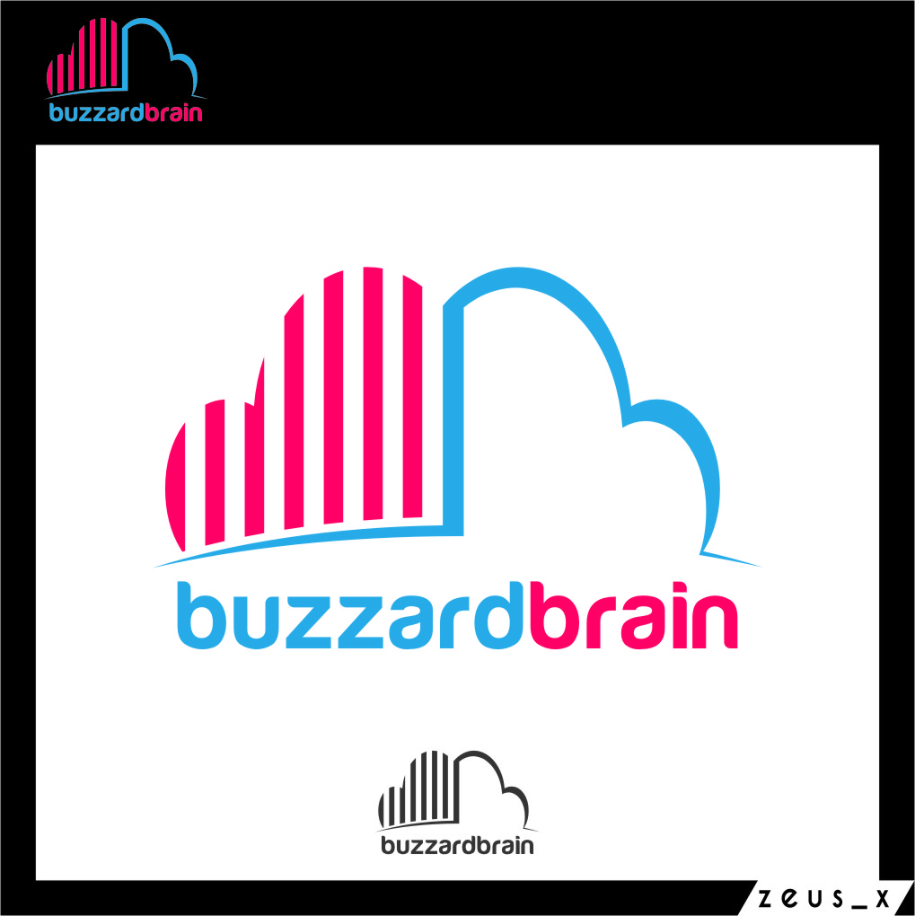 Logo Design by Ngepet_art - Entry No. 81 in the Logo Design Contest Buzzard Brain Logo Design.