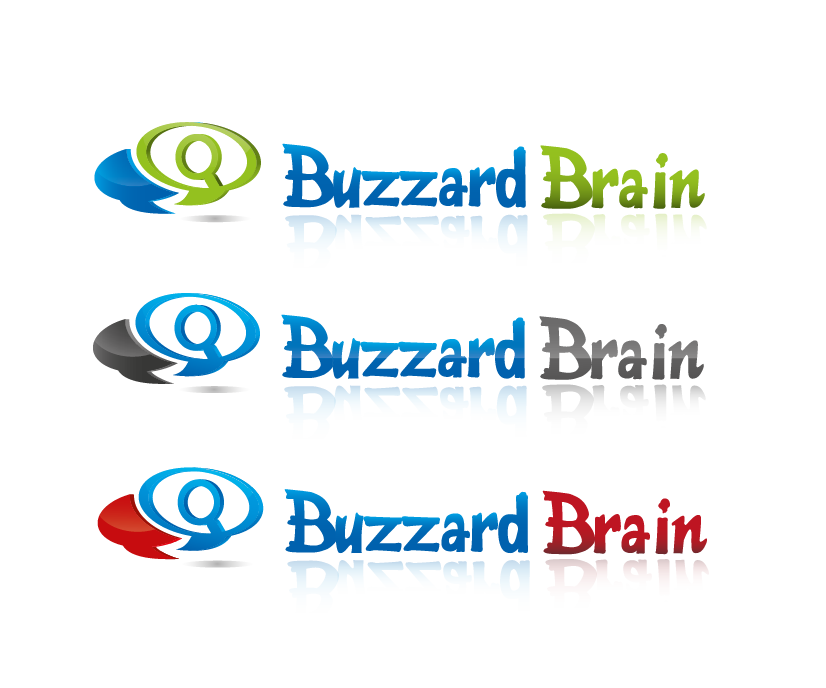 Logo Design by 354studio - Entry No. 83 in the Logo Design Contest Buzzard Brain Logo Design.