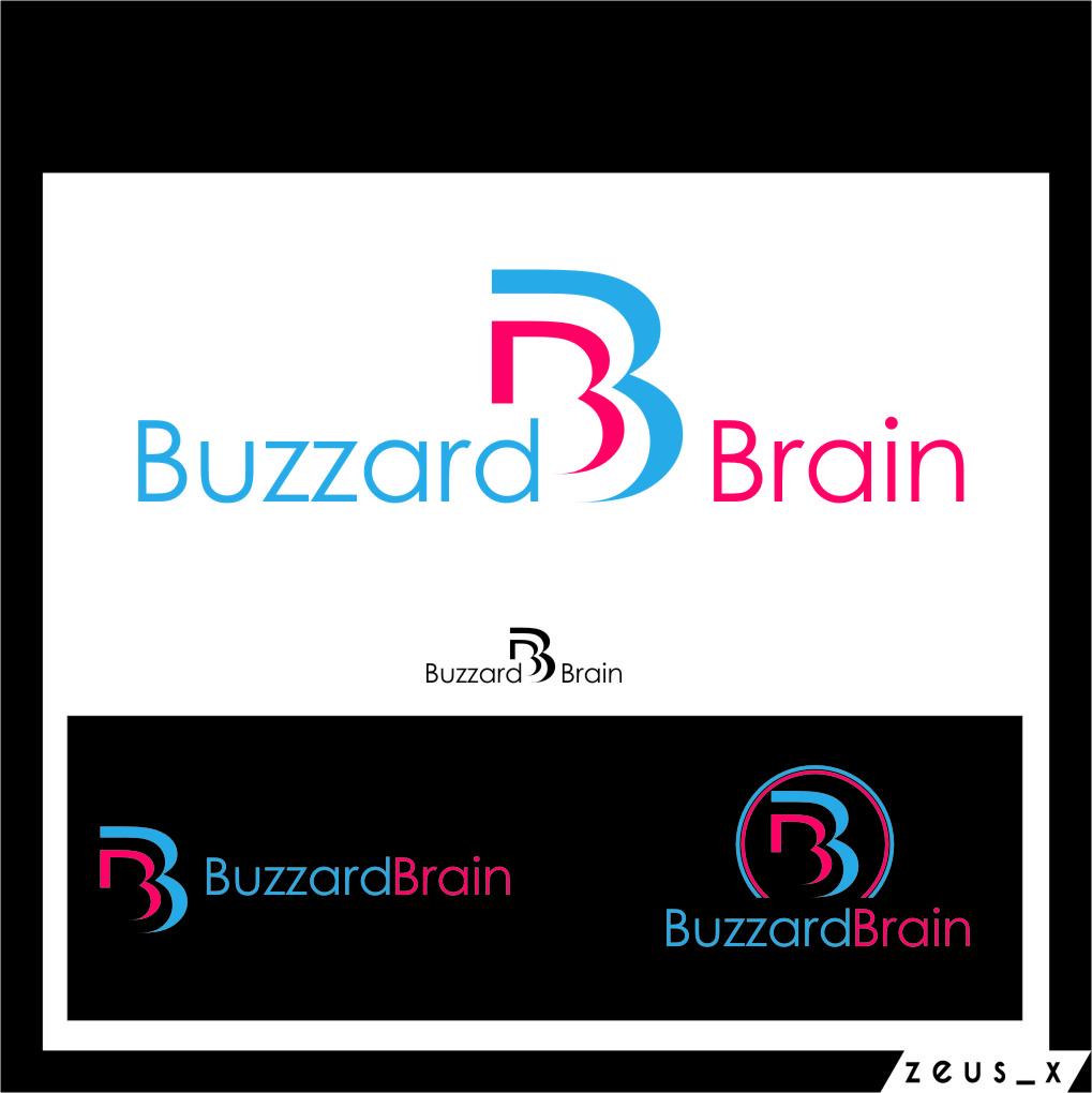 Logo Design by RasYa Muhammad Athaya - Entry No. 84 in the Logo Design Contest Buzzard Brain Logo Design.