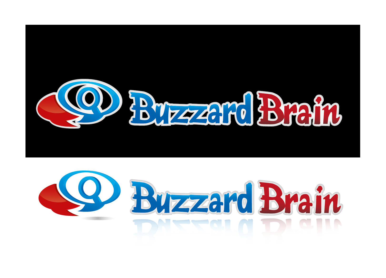 Logo Design by 354studio - Entry No. 85 in the Logo Design Contest Buzzard Brain Logo Design.
