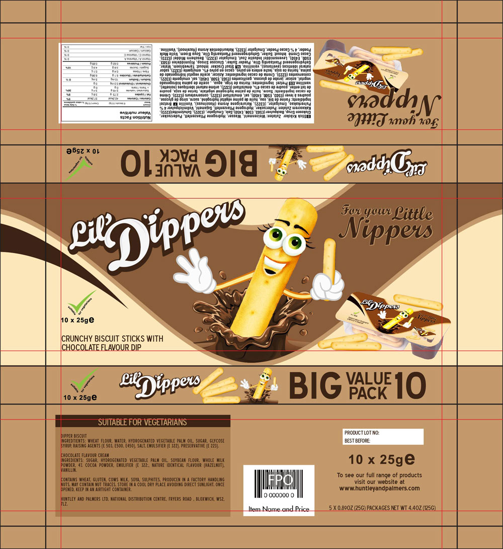 Packaging Design by lagalag - Entry No. 15 in the Packaging Design Contest Inspiring Packaging Design for Lil' Dippers.