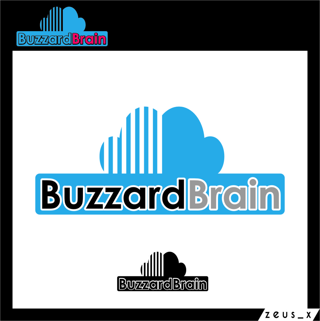 Logo Design by RoSyid Rono-Rene On Java - Entry No. 87 in the Logo Design Contest Buzzard Brain Logo Design.