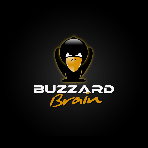Logo Design by Les-Graphistes - Entry No. 88 in the Logo Design Contest Buzzard Brain Logo Design.