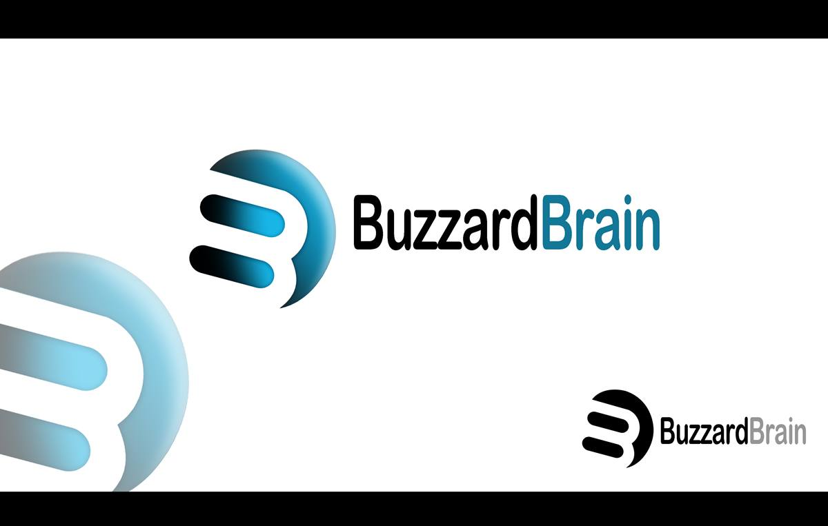 Logo Design by Respati Himawan - Entry No. 92 in the Logo Design Contest Buzzard Brain Logo Design.