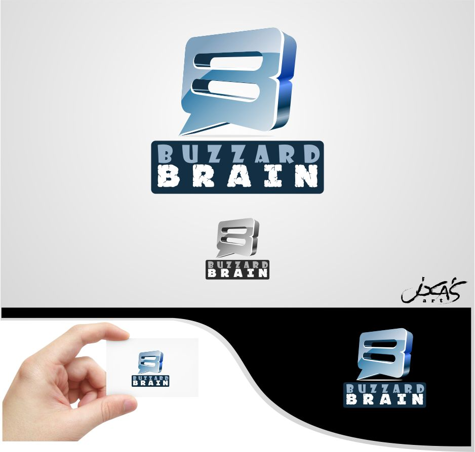 Logo Design by joca - Entry No. 94 in the Logo Design Contest Buzzard Brain Logo Design.
