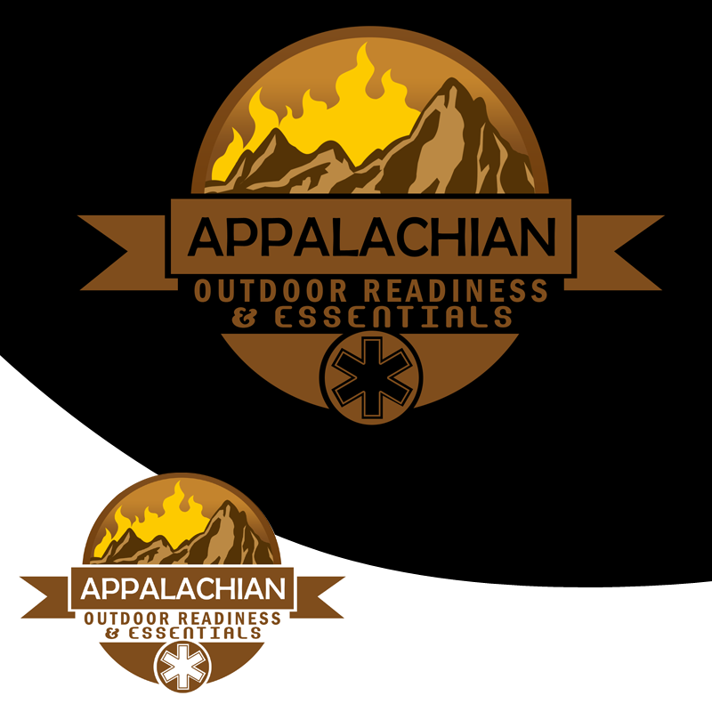 Logo Design by Private User - Entry No. 38 in the Logo Design Contest Imaginative Logo Design for Appalachian Outdoor Readiness & Essentials.