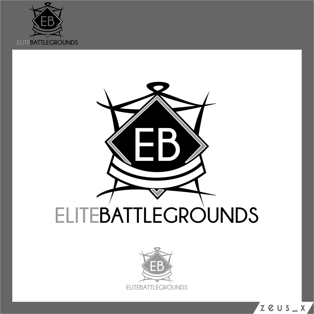 Logo Design by RasYa Muhammad Athaya - Entry No. 2 in the Logo Design Contest Creative Logo Design for Elite Battlegrounds.