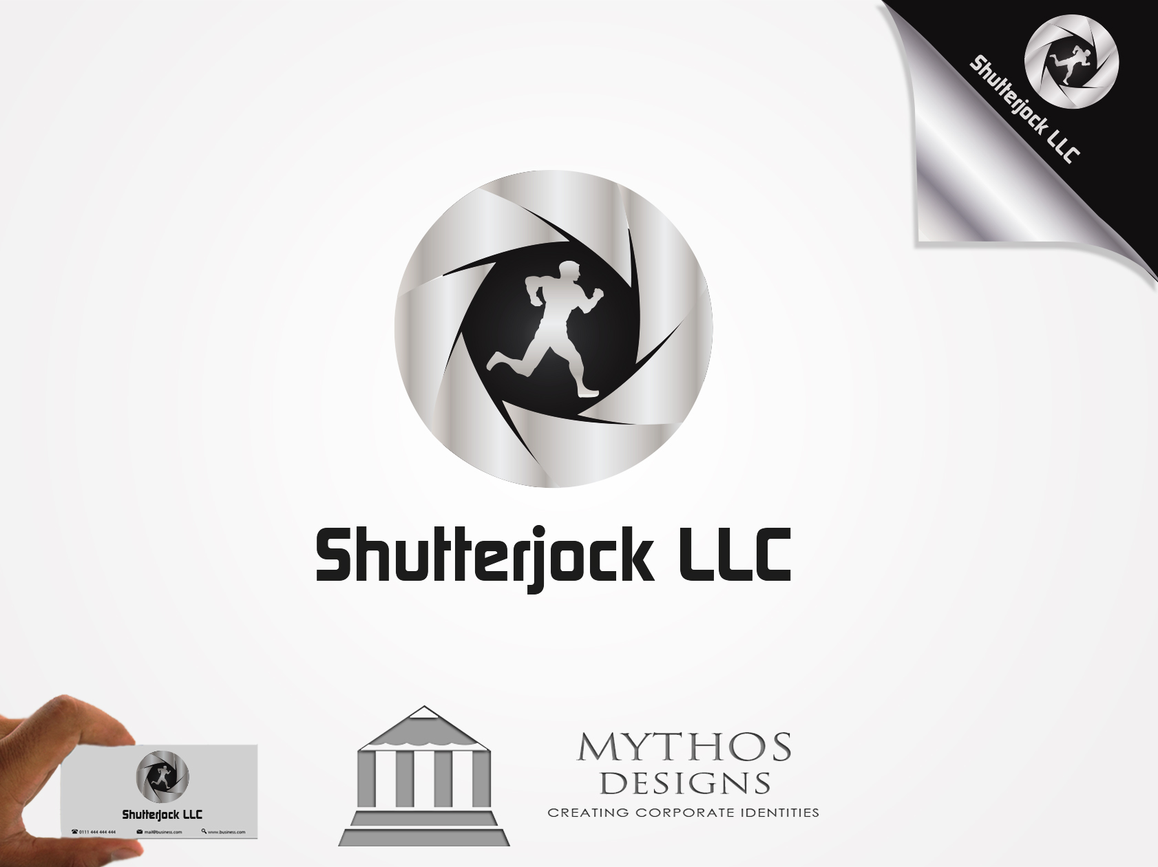 Logo Design by Mythos Designs - Entry No. 129 in the Logo Design Contest Unique Logo Design Wanted for Shutterjock LLC.