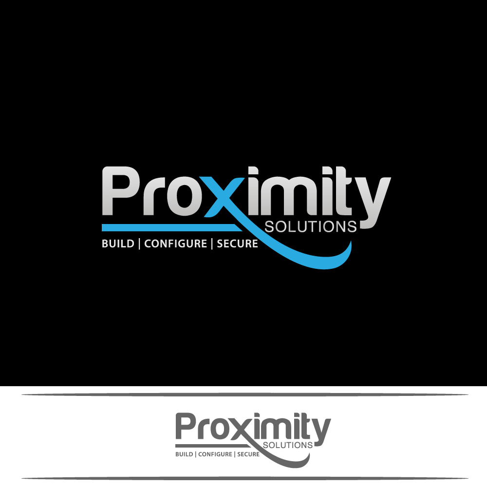 Logo Design by rockin - Entry No. 70 in the Logo Design Contest New Logo Design for Proximity Solutions.