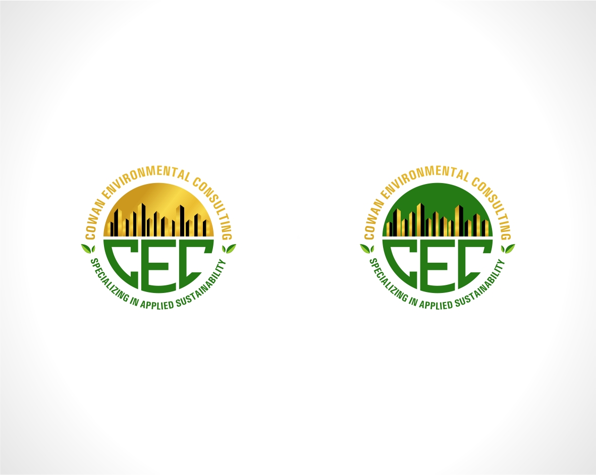 Logo Design by haidu - Entry No. 51 in the Logo Design Contest Fun Logo Design for Cowan Environmental Consulting.