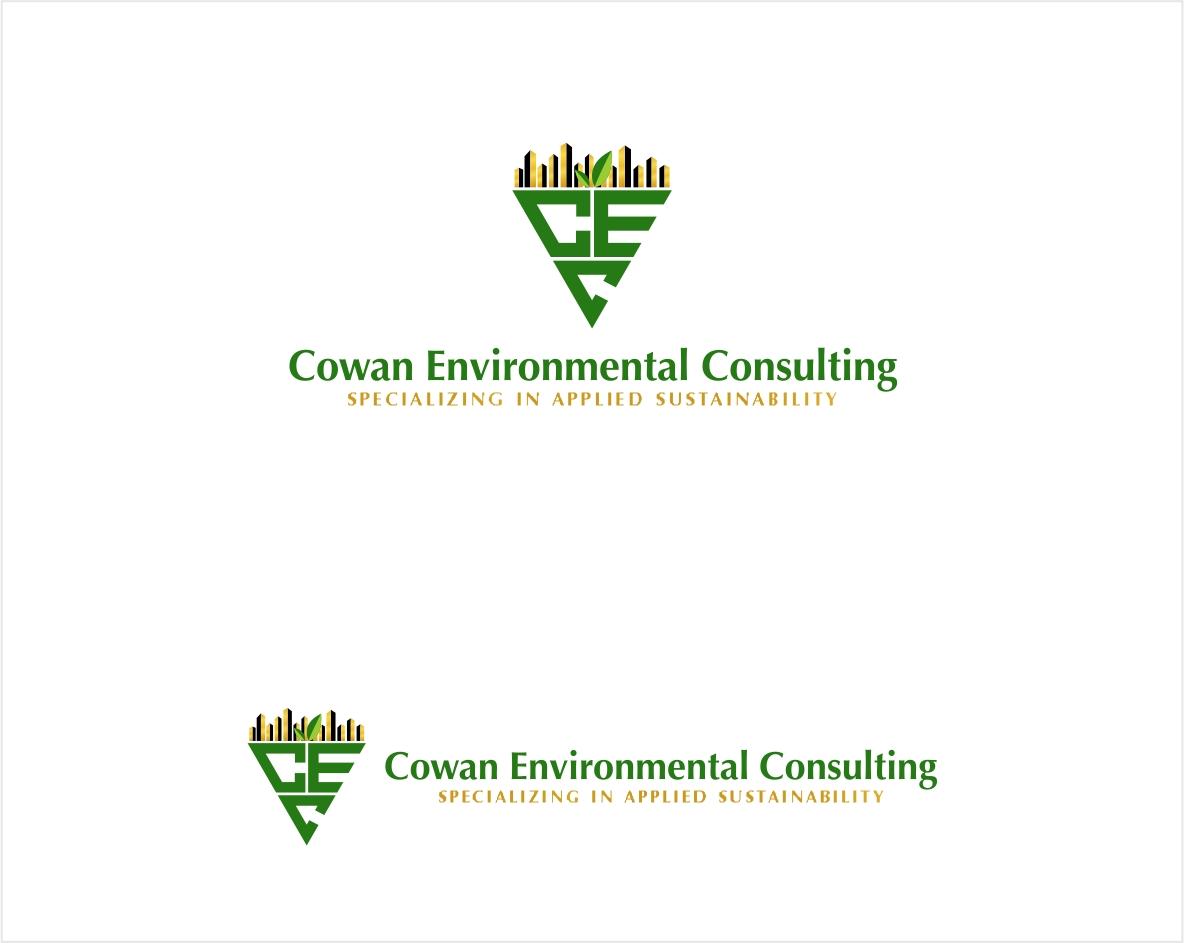 Logo Design by haidu - Entry No. 52 in the Logo Design Contest Fun Logo Design for Cowan Environmental Consulting.