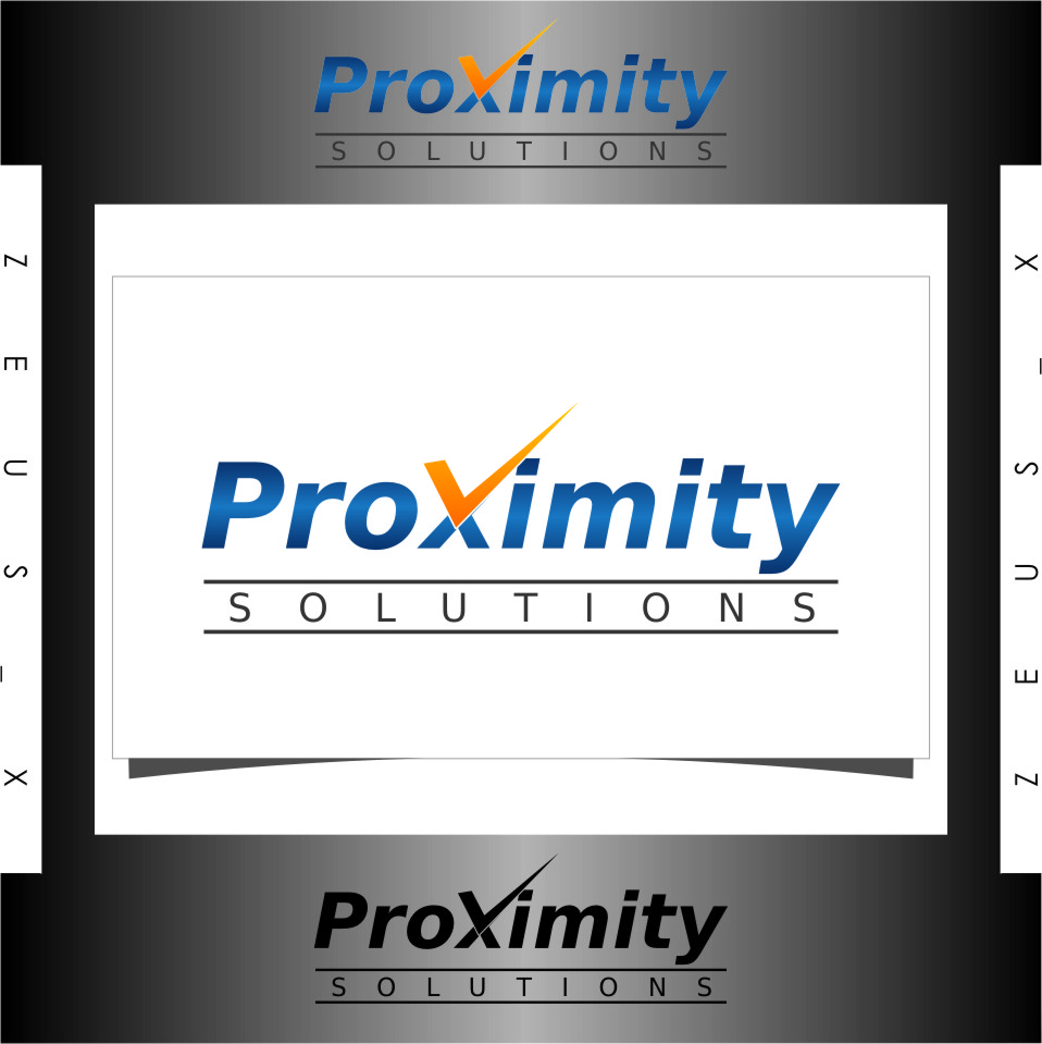 Logo Design by RoSyid Rono-Rene On Java - Entry No. 80 in the Logo Design Contest New Logo Design for Proximity Solutions.